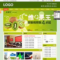 水果网站绿色模板